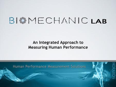 An Integrated Approach to Measuring Human Performance.
