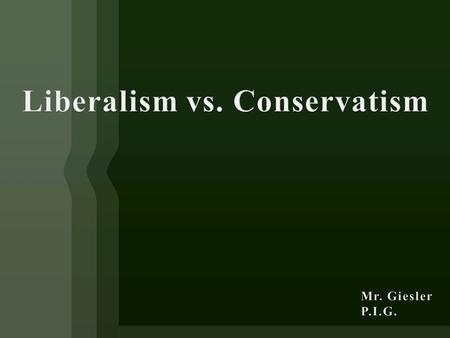 The first signs of liberalism may be discovered in the expansive political role being sought by increasingly large numbers of individuals and, more significantly,