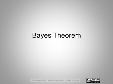 Bayes Theorem. Motivating Example: Drug Tests A drug test gives a false positive 2% of the time (that is, 2% of those who test positive actually are not.