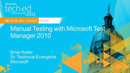 Manual Testing with Microsoft Test Manager 2010