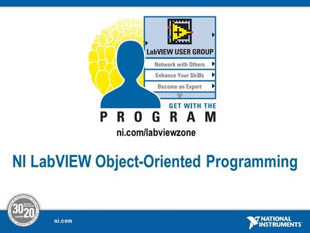 NI LabVIEW Object-Oriented Programming