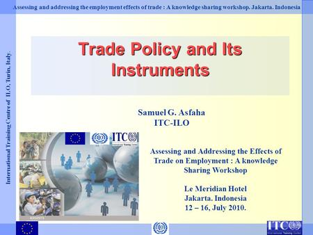 Trade Policy and Its Instruments