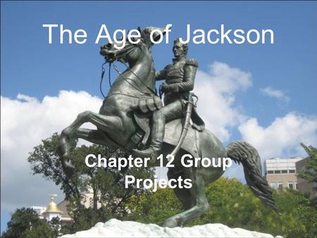 Chapter 12 Group Projects