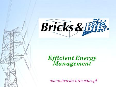 Efficient Energy Management www.bricks-bits.com.pl.
