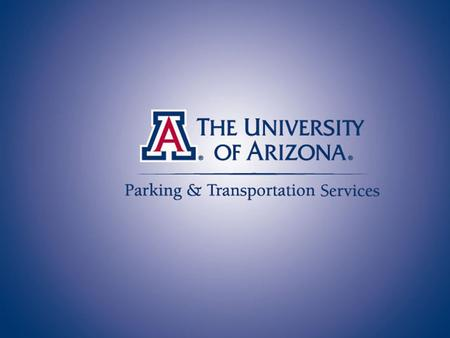 Parking & Transportation Services Mission To provide parking options and promote transportation alternatives for faculty, staff, students and visitors.