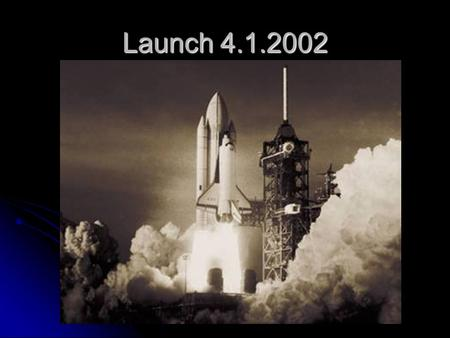 Launch 4.1.2002. Data Pro Back Office Solutions for Open Systems Software and Services for Now and the Future.