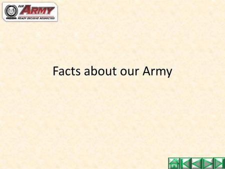 Facts about our Army. Interesting Facts 1967 – Introduction of Code of Conduct Dr. Goh Keng Swee promulgated the SAF Code of Conduct consisting of 6.