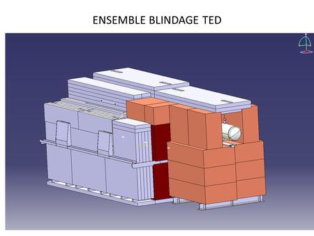 ENSEMBLE BLINDAGE TED. PROCEDURE DE DEMONTAGE DU TED.
