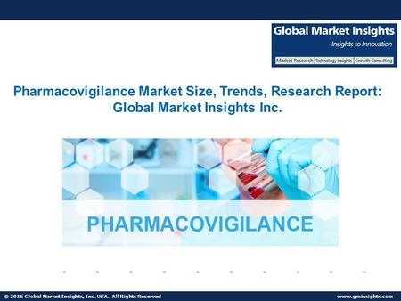 © 2016 Global Market Insights, Inc. USA. All Rights Reserved  Fuel Cell Market size worth $25.5bn by 2024 Pharmacovigilance Market Size,