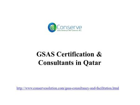 GSAS Certification & Consultants in Qatar