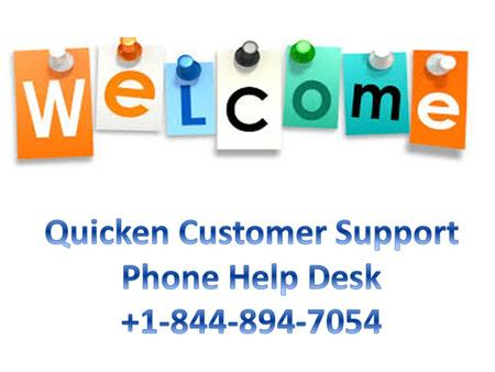 Dial Toll Free At Quicken Accounting Software make simple to deal with your account transactions exchanges without doing an over the top.
