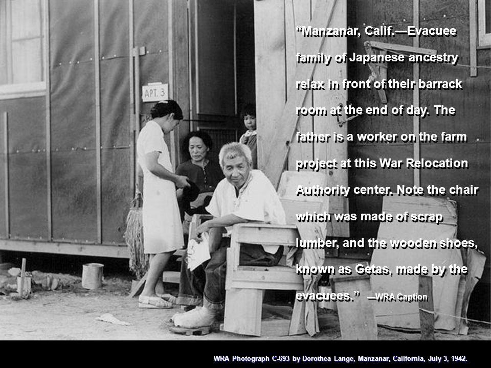 Manzanar, Cal.