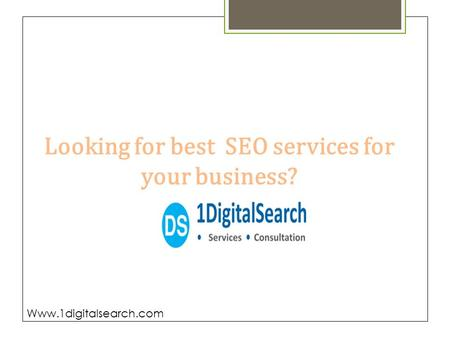 No.1 SEO Company in Pune , Digital Marketing company in pune - 1digitalsearch