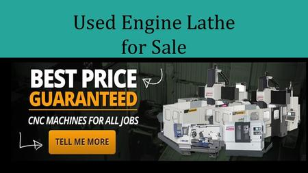 Used Engine Lathe for Sale. Used Metal Lathe Machine.
