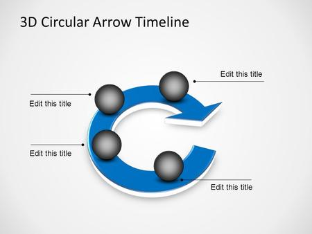 Test - 3D Circular Arrow Timeline Wendy Balmer.