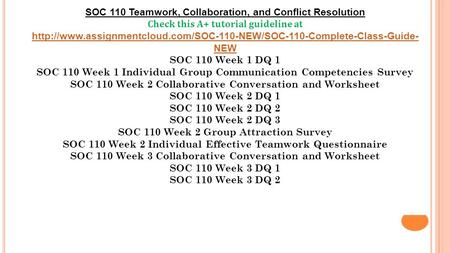 Teamwork collaboration and conflict resolution