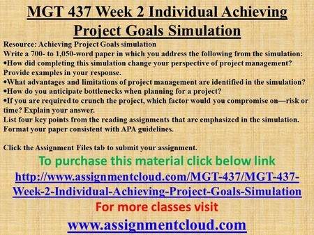 mgt 437 week 3 project management Discussion question #1: how is conflict management critical to project management what might happen during a period of conflict within a team how does this differ from a conflict with a customer or a supplier.