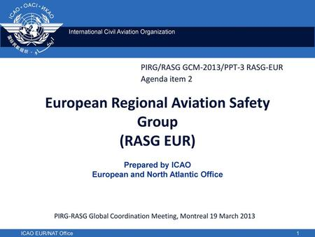 European Regional Aviation Safety Group (RASG EUR)
