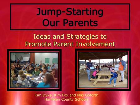 Jump-Starting Our Parents