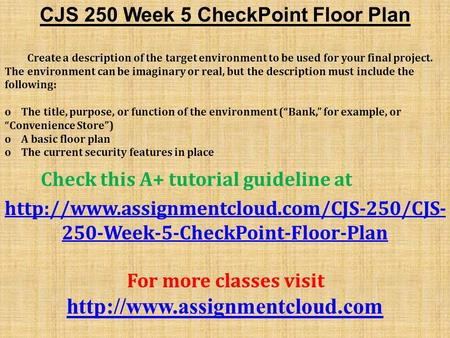 week 7 cjs checkpoint Cjs-240-week-7-checkpoint-gang-development-and-control-checkpoint-appendix-e-95docx.
