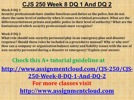 physical security appendix d week 4 cjs 250