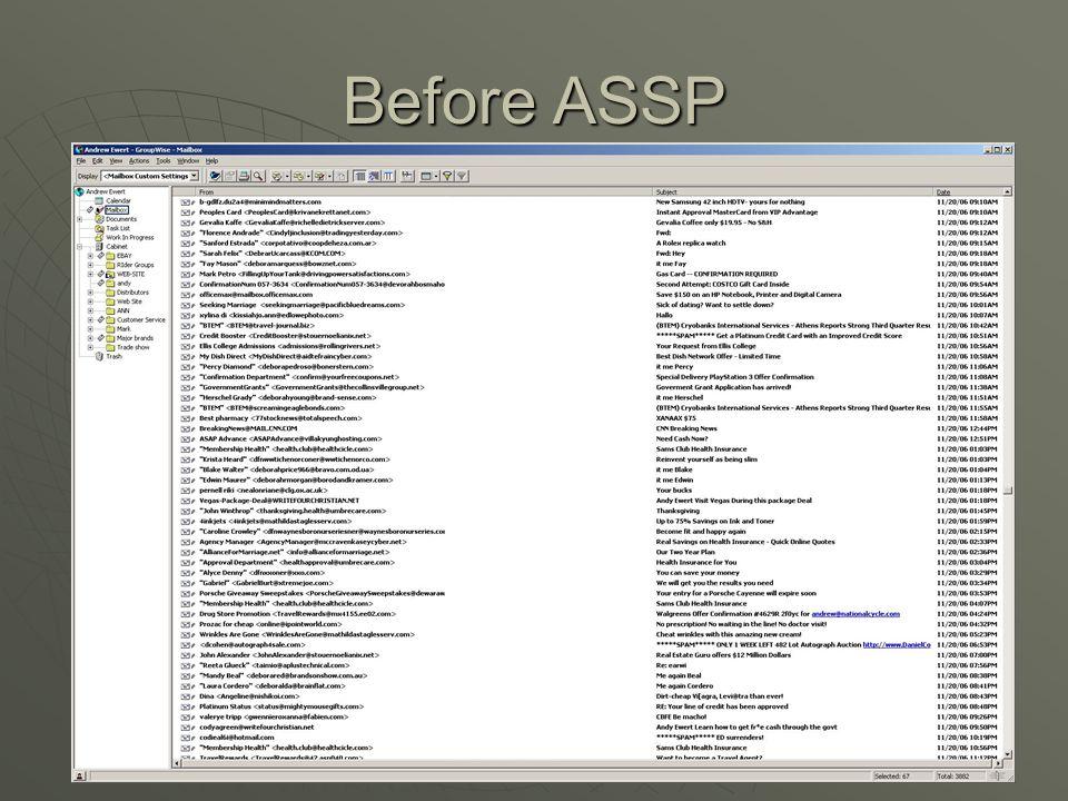 Turning ASSP on