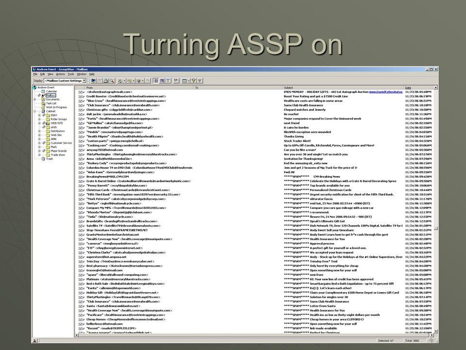 With ASSP