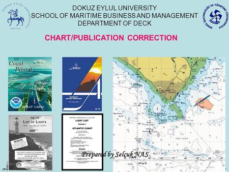 CHART/PUBLICATION CORRECTION