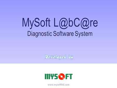 Www.mysoftltd.com. Features Quick and Easy Order Entry reduces time spent on billing chores by up to 30% Multiple Order Entry at the same time Only Specific.