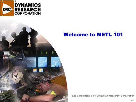 Site administered by Dynamics Research Corporation