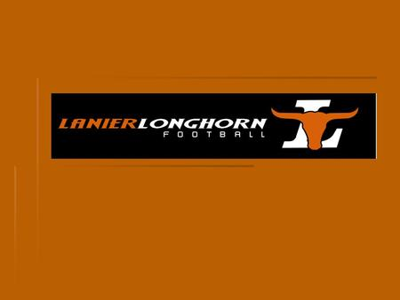 LANIER FOOTBALL COLLEGE RECRUITING OVERVIEW Role of a high school program Role of a high school program Who gets recruited? Who gets recruited? Eligibility.
