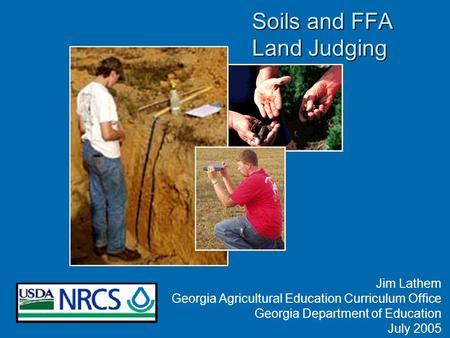 Ppt video online download for Soil judging