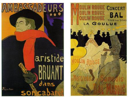 Toulouse-Lautrec, Henri de (1864-1901). Many immortal painters lived and worked in Paris during the late 19th century. They included Degas, Cézanne, Gauguin,