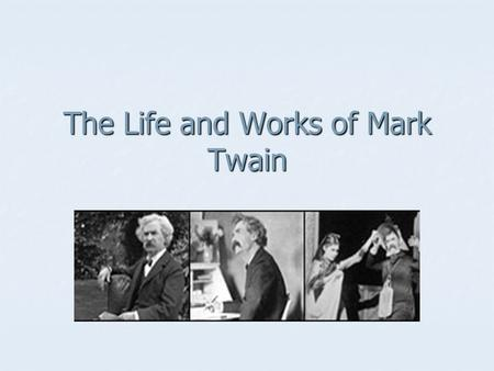 The Life and Works of Mark Twain. Every time you stop a school, you will have to build a jail. What you gain at one end you lose at the other. It's like.