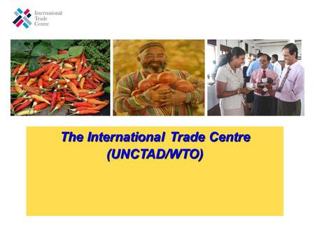The International Trade Centre (UNCTAD/WTO) The International Trade Centre (UNCTAD/WTO)