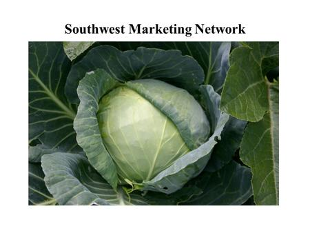Southwest Marketing Network. Expanding Markets for Southwest Small-Scale, Alternative, and Minority Producers www.swmarketingnetwork.org.