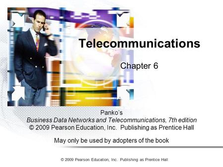 Telecommunications Chapter 6