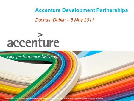Accenture Development Partnerships