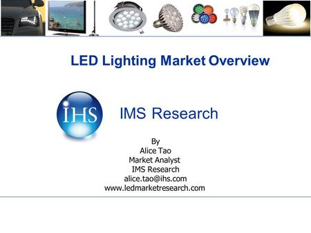 LED Lighting Market Overview