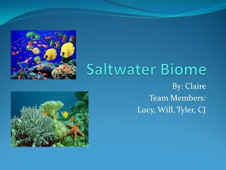 By: Claire Team Members: Lucy, Will, Tyler, CJ. Where it is all over the world most bodies of water Covers about 70%