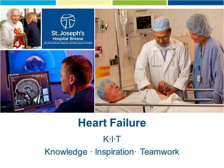Heart Failure KIT Knowledge Inspiration Teamwork.