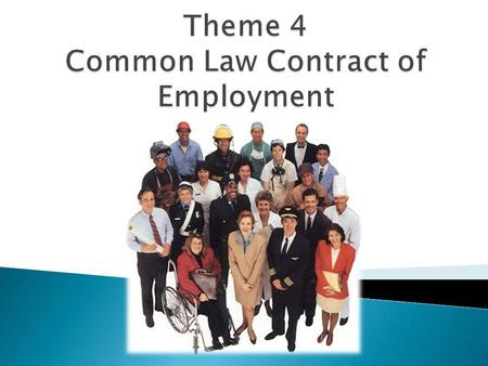 A contract of employment is a reciprocal contract in terms of which an employee places his services at the disposal of another person or organisation,