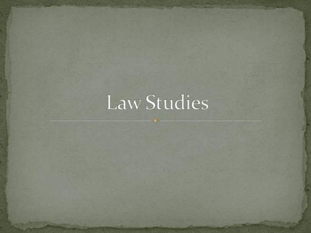 What is Law? Jurisprudence: the study of law and legal philosophy Law: the rules and regulations made and enforced by government that regulate the conduct.