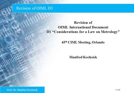 45th CIML Meeting, Orlando