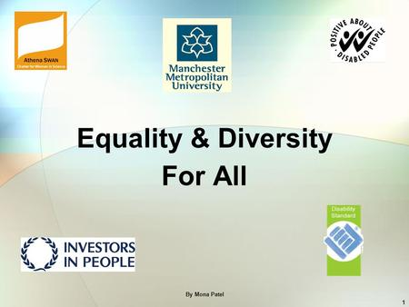 Equality & Diversity For All