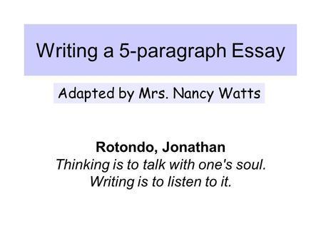 Good college essay titles