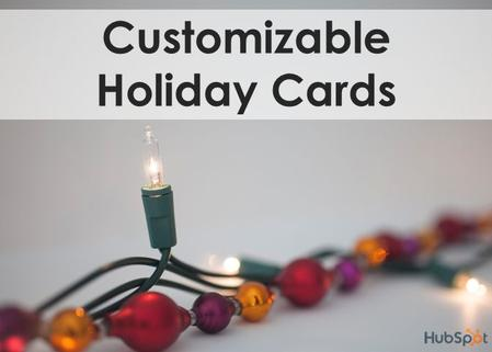 Customizable Holiday Cards. The holiday season has arrived once again. Have you thought about sending holiday cards to your clients, partners, customers,