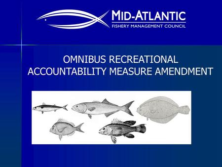 OMNIBUS RECREATIONAL ACCOUNTABILITY MEASURE AMENDMENT.