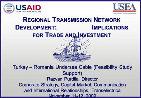 Regional Transmission Network Development: