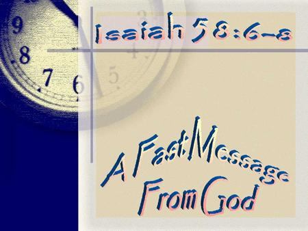 Fasting and Prayer Exodus 34 27 And the LORD said unto Moses, Write thou these words: for after the tenor of these words I have made a covenant with thee.